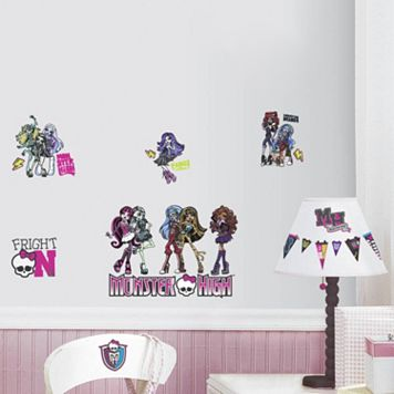 Monster High Peel & Stick Wall Decal
