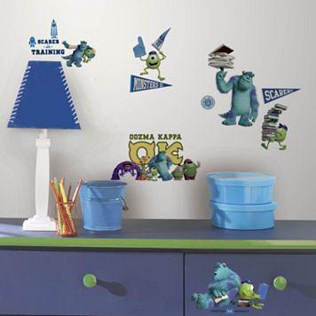 Monsters University Peel & Stick Wall Decals