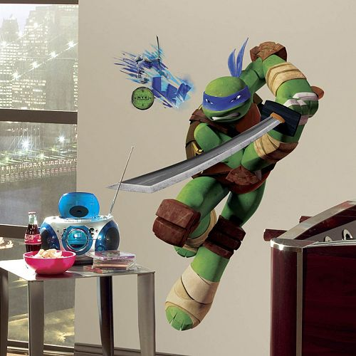Teenage Mutant Ninja Turtles Leonardo Peel Amp Stick Wall Decal