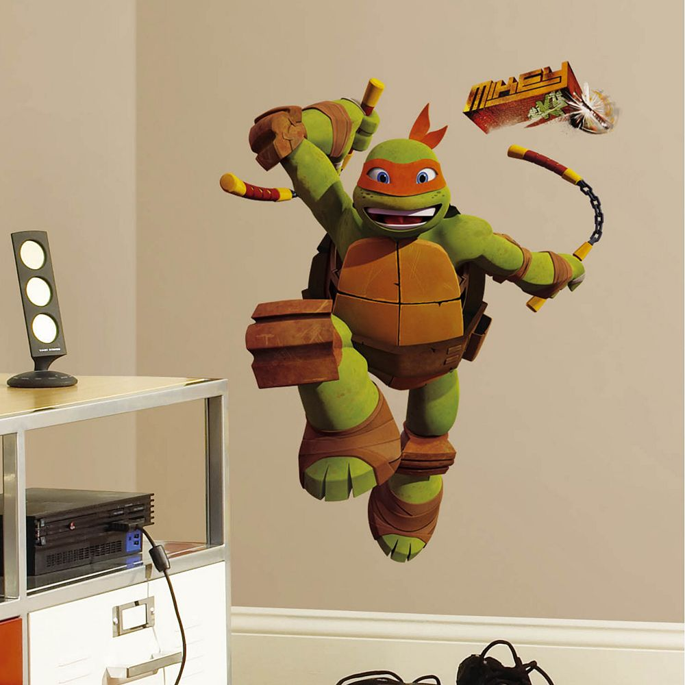 Teenage Mutant Ninja Turtles Michelangelo Peel & Stick Wall Decal