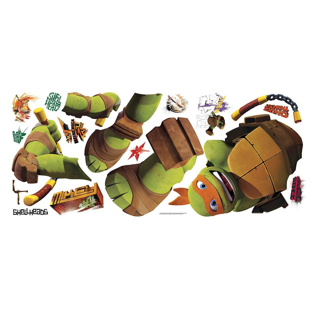 Teenage Mutant Ninja Turtles Michelangelo Peel and Stick Wall Decal