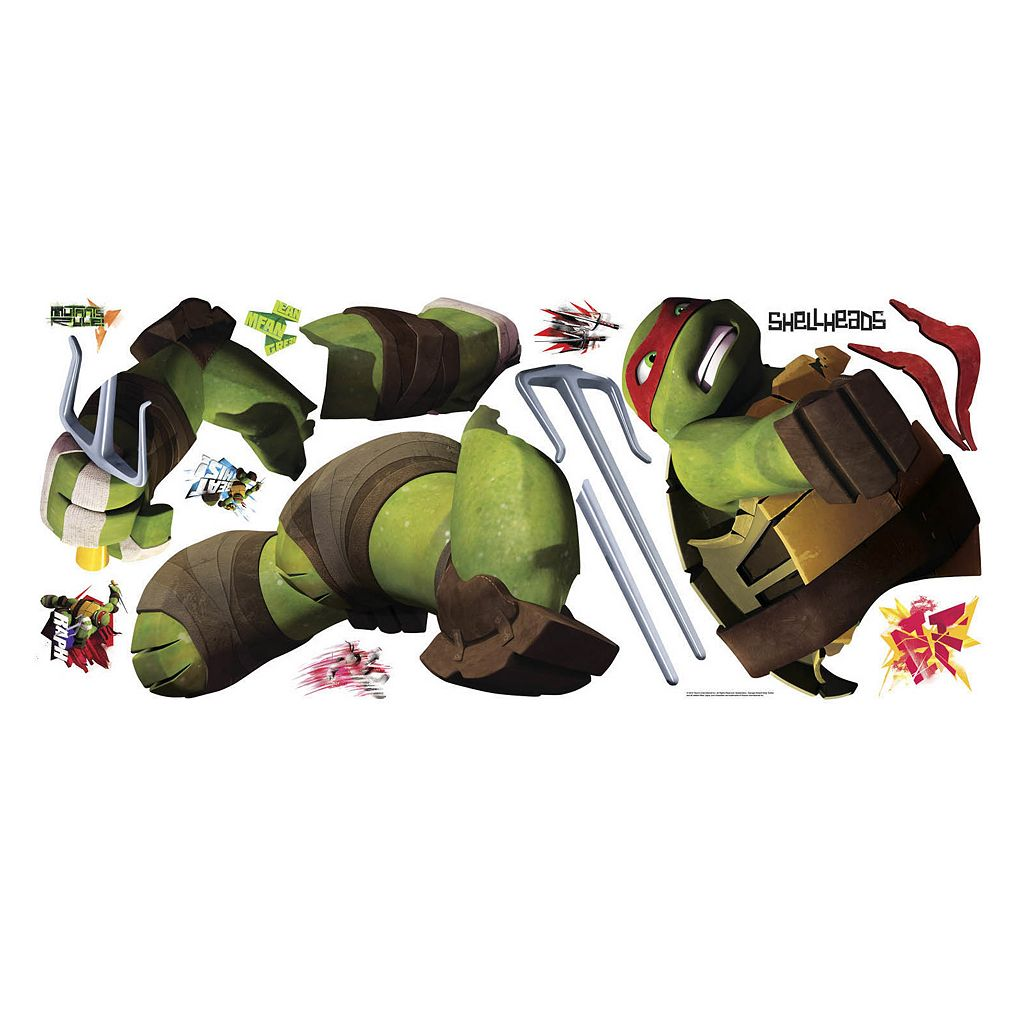 Teenage Mutant Ninja Turtles Raphael Peel and Stick Wall Decal