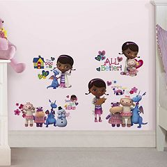 Disney Doc McStuffins Peel & Stick Wall Decals