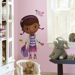 Disney Doc McStuffins Peel and Stick Giant Wall Decal