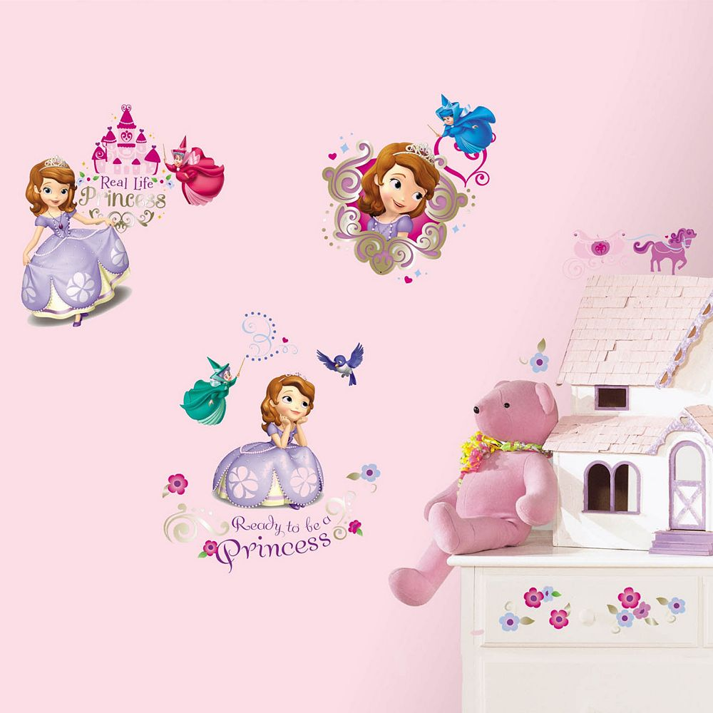 Disney Sofia the First Peel & Stick Wall Decals