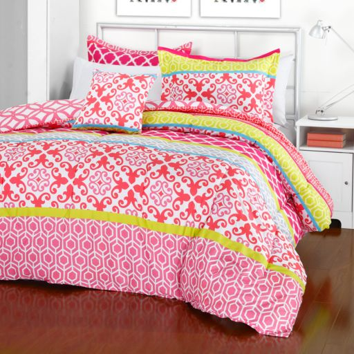 iTEEN Jeannie Reversible Comforter Set