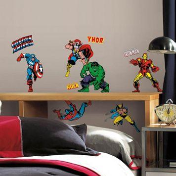 Marvel Classics Peel & Stick Wall Decals