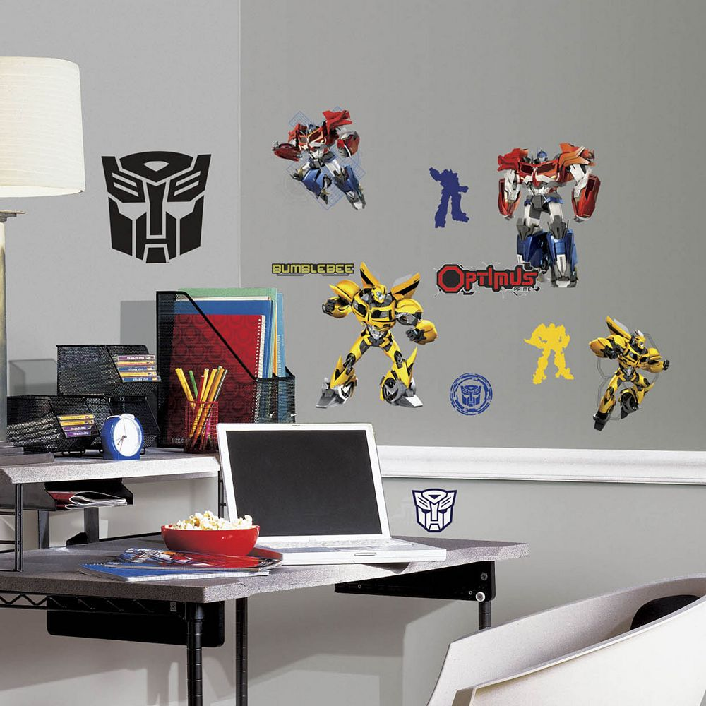 Transformers Peel & Stick Wall Decals