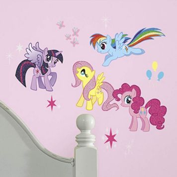 My Little Pony Peel & Stick Wall Decals