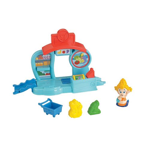 . Fisher Price Bubble Guppies Bubbletucky Market Bubble Play Set