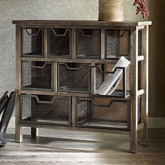 Madison Park Cirque Storage Console Table