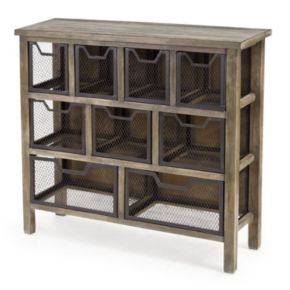 Madison Park Cirque Storage Console Table