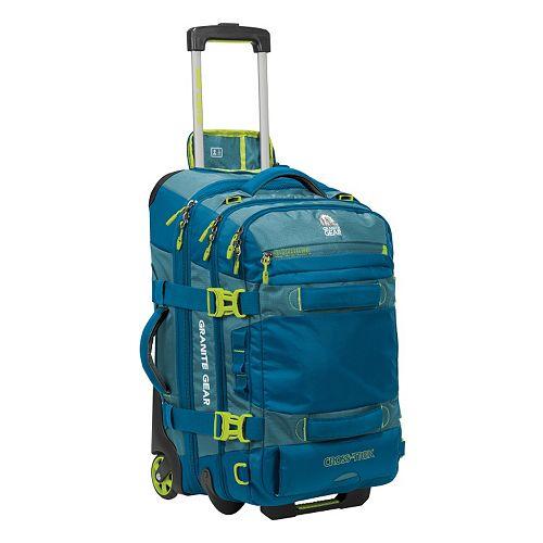 Granite Gear Cross-Trek 22-in. Drop-Bottom Wheeled Duffel Bag