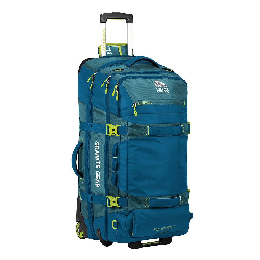 Granite Gear Cross-Trek 32-in. Drop-Bottom Wheeled Duffel Bag