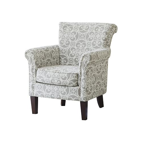 Incredible Madison Park Brooke Arm Chair Squirreltailoven Fun Painted Chair Ideas Images Squirreltailovenorg