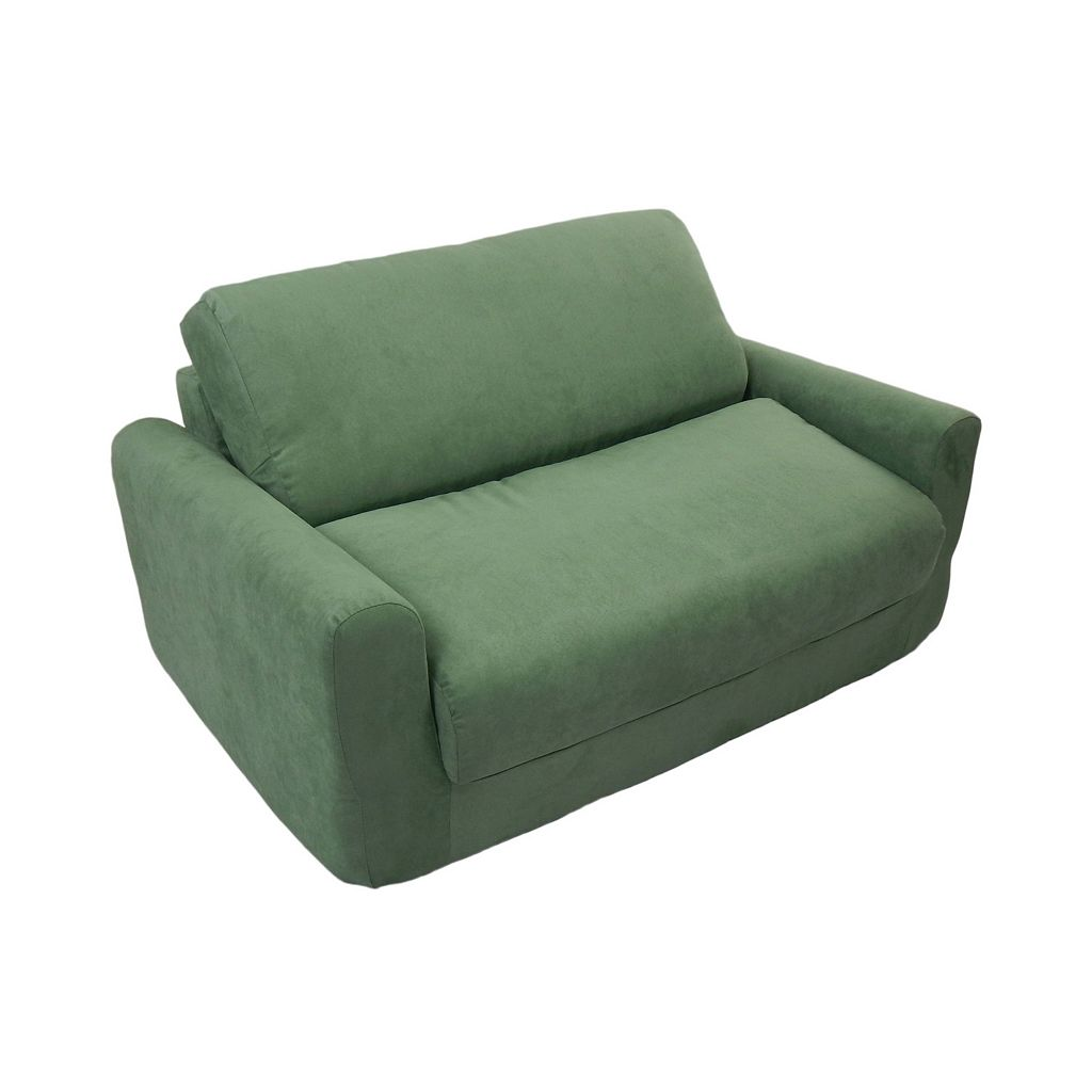 Fun Furnishings Microsuede Sleeper Sofa - Kids