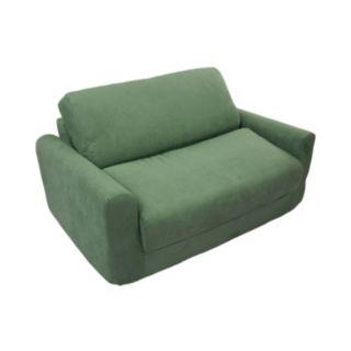 Fun Furnishings Microsuede Sleeper Sofa - Kids