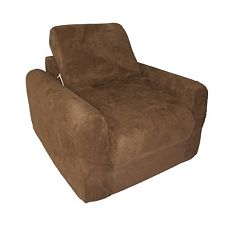Fun Furnishings Microsuede Sleeper Chair - Kids