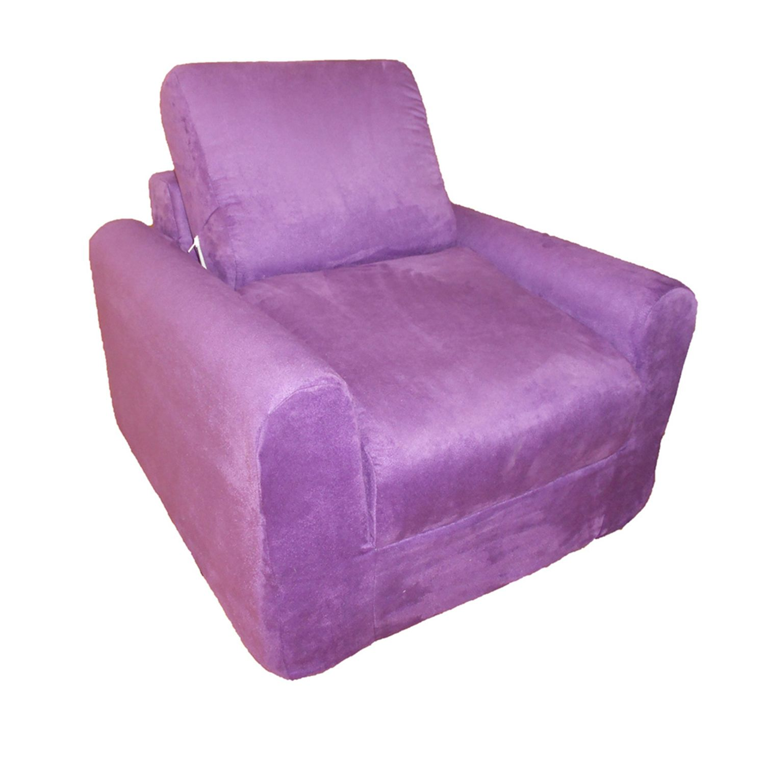 Fun Furnishings Microsuede Sleeper Chair   Kids
