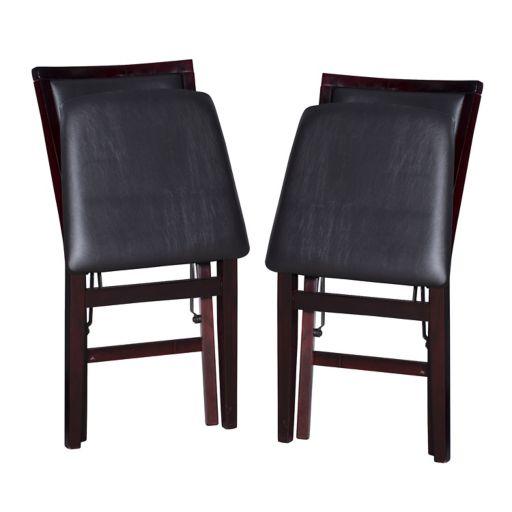 Linon Keira 2-pack Folding Chair Set