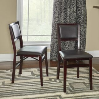 Linon Keira 2-pack Folding Chair Set
