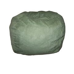 Fun Furnishings Microsuede Small Beanbag Chair - Kids