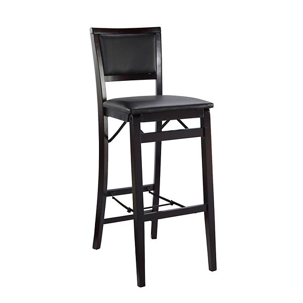Linon Keira Folding Bar Chair