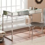 Southern Enterprises Lucinda Mirrored Desk