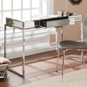 Southern Enterprises Lucinda Mirrored Desk