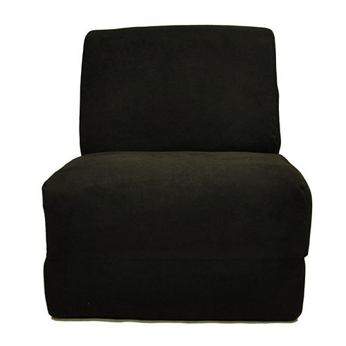 Fun Furnishings Microsuede Sleeper Chair - Teen