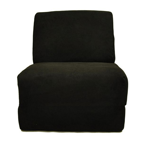 Fun Furnishings Microsuede Sleeper Chair Teen
