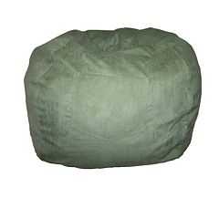 Fun Furnishings Microsuede Large Beanbag Chair - Teen