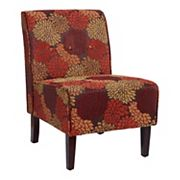 Linon Coco Harvest Accent Chair