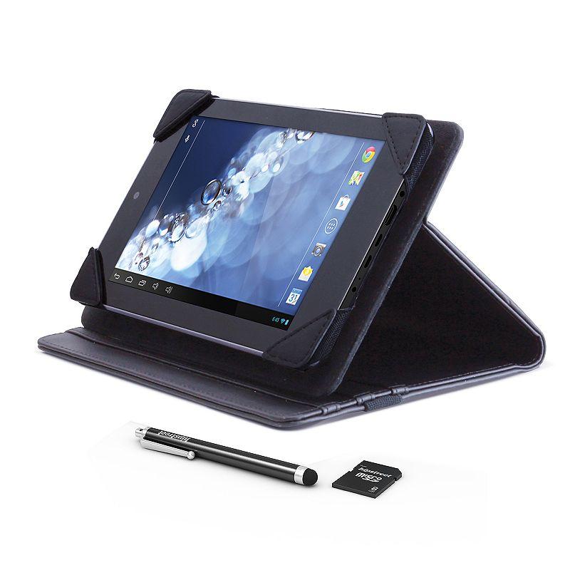 Hipstreet EQUINOX 4 10.1-in. Dual Core 1024x600HD 8GB Tablet Bundle