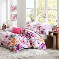 Intelligent Design Cassidy Reversible Comforter Set