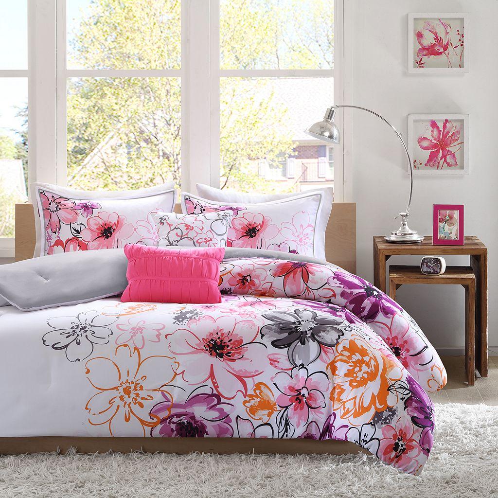 Intelligent Design Cassidy Reversible Comforter Set