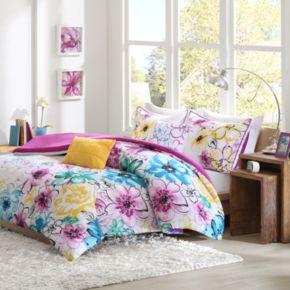 Intelligent Design Ashley Reversible Comforter Set
