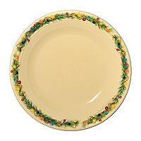 Fiesta Christmas Tree Dinner Plate