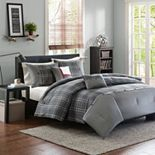 Intelligent Design Campbell Reversible Comforter Set
