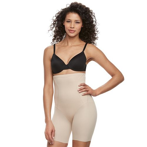 Naomi & Nicole Inside Magic Extra Firm High-Waist Thigh Slimmer 7929