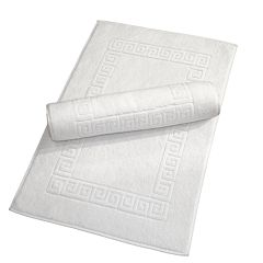 Linum Home Textiles 2-pk. Terry Greek Key Bath Mats