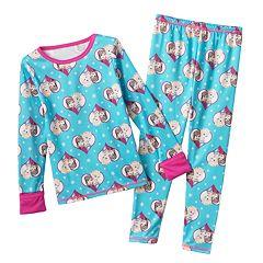 Disney Frozen Elsa & Anna Long Underwear Set by Cuddl Duds - Toddler