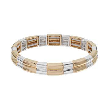 Napier Beveled Stretch Bracelet