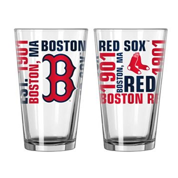 Boston Red Sox 2-piece Pint Glass Set