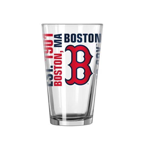 Boston Red Sox 2-piece Pint Glass Set