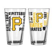 Pittsburgh Pirates 2-piece Pint Glass Set