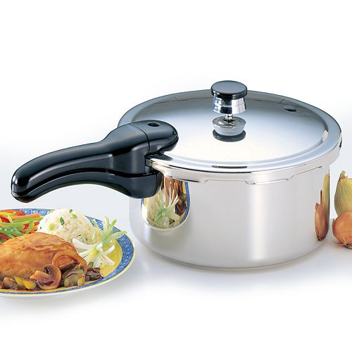 Presto 4-qt. Stainless Steel Pressure Cooker