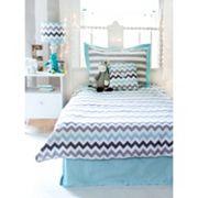 My Baby Sam Chevron 4 pc Full Bedding Set