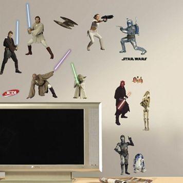 Star Wars Peel & Stick Wall Decals