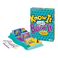 Know It or Blow It Trivia Game by Patch